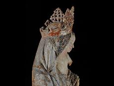 Detail images: Madonna aus der Werkstatt des Seeoner Meisters, 15. Jahrhundert