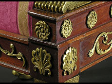 Detail images: Klassizistische Salon-Sitzgruppe