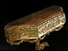 Detail images: Paar Louis XVI Wandkonsolen