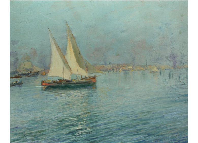 Oscar Riccardi, 1864 - 1935 Italien