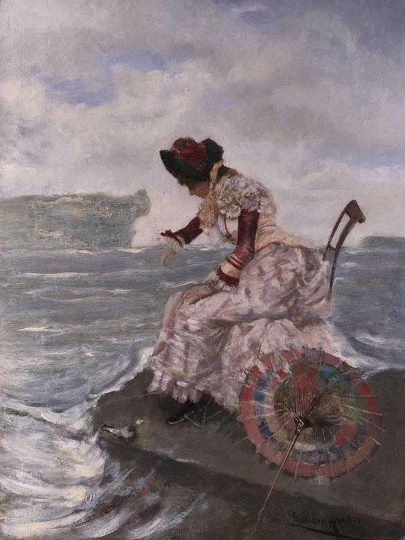 Francisco Miralles, 1848 - 1901, Französischer Maler des 19. Jahrhunderts