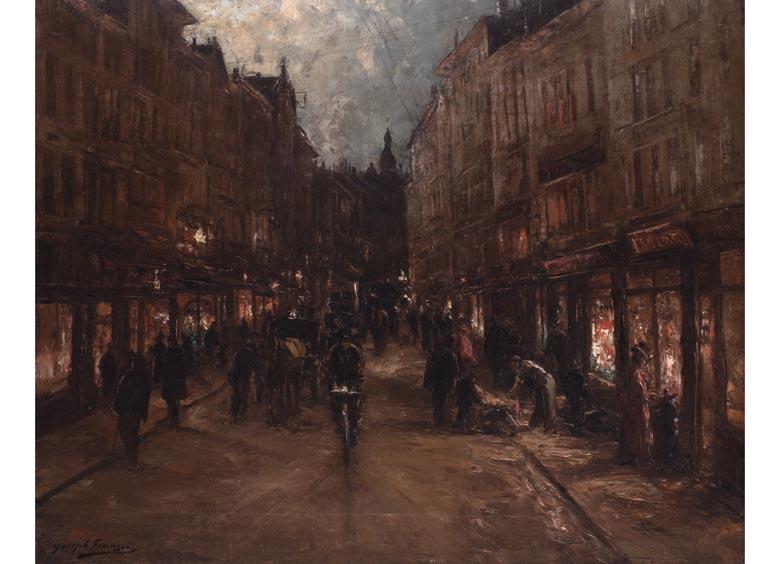 Joseph François, 1851 Brüssel - 1940