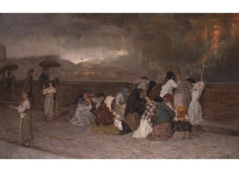 Gioacchino Toma, 1836 Galatina - 1891 Napoli