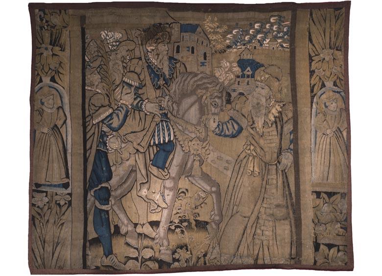 Gobelin des späten 16. Jahrhunderts
