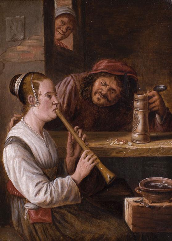 Niederländischer Maler des 17./18. Jahrhunderts in der Stilnachfolge von Teniers