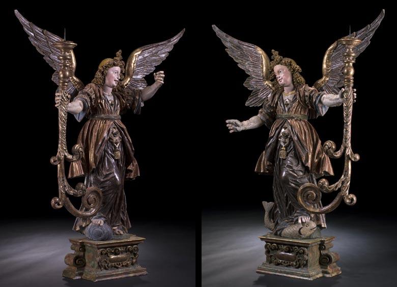 Leuchterengelpaar von Jörg Zürn, 1583 - 1638