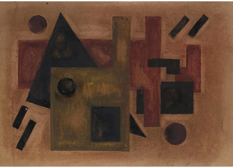 Suprematistischer Maler des 20. Jahrhunderts