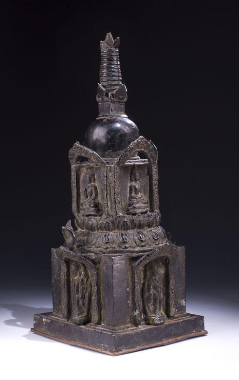 Seltene burmesische Stupa