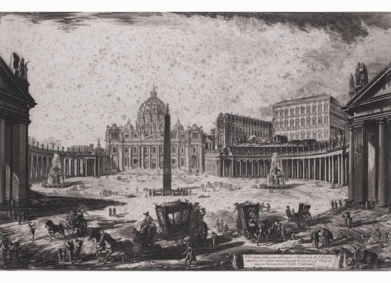 Giovanni Battista Piranesi, 1720 - 1778 Rom