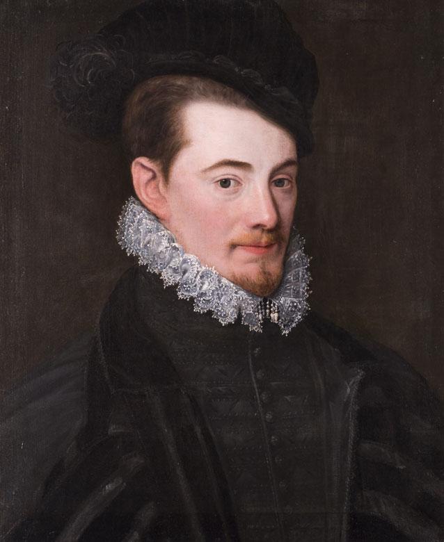 Benjamin Foullon, 1550 - 1612. Französische Schule. Der Maler wirkte als Hofmaler nach dem Tode seines Onkels François Clouet.