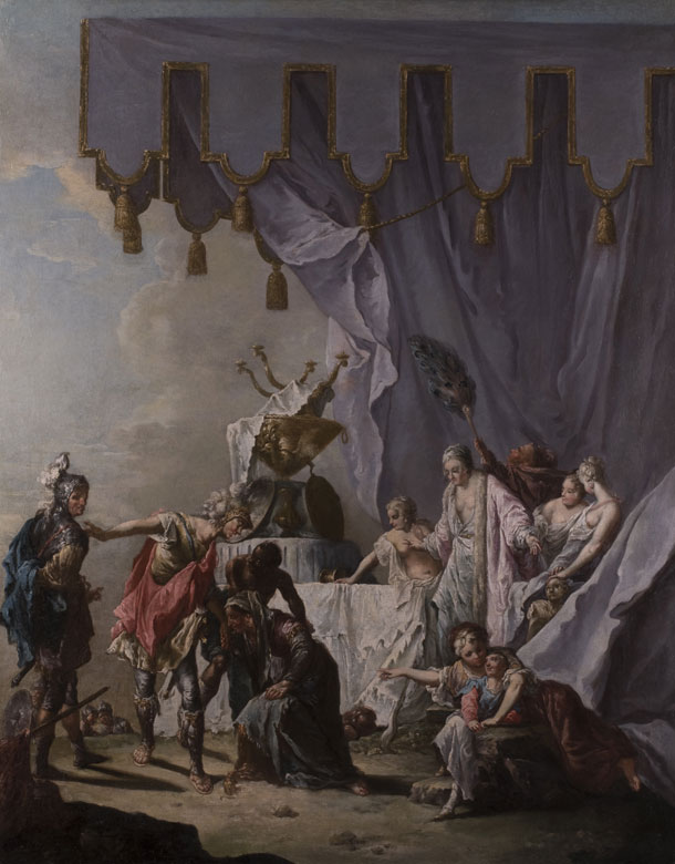 Francesco Zugno, 1709 Venedig - 1787, Schüler des Giovanni Battista Tiepolo.