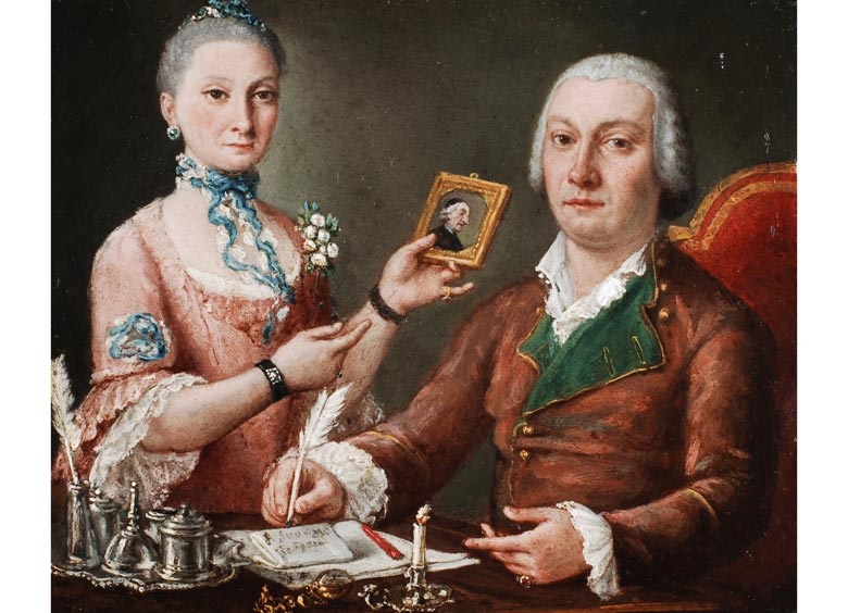 Pietro Fabris, tätig in Neapel zwischen 1756 und 1779