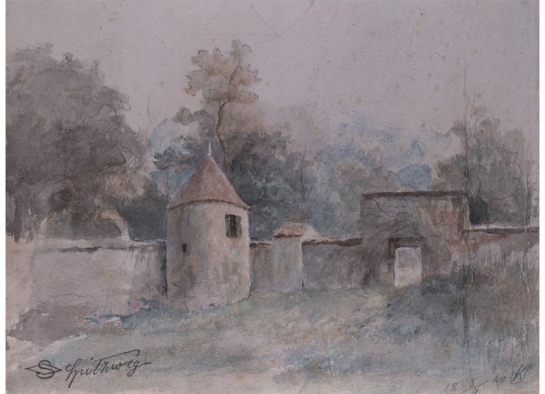 Carl Spitzweg, 1808 - 1885 München