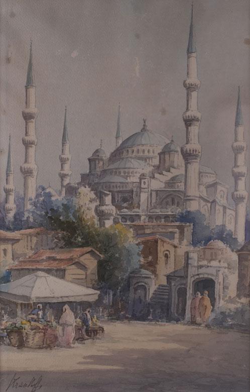 Russischer Maler des 19./20. Jahrhunderts