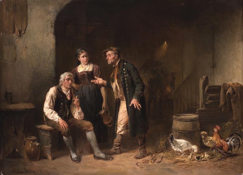 Anton Seitz, 1829 Roth – 1900 München