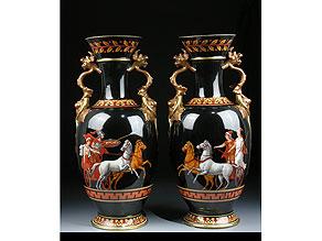 Detail images:  Paar Ginori-Vasen