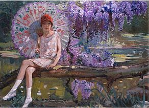 Camille-Nicolas Lambert,  1876 Arlon - 1963 Paris, Belgische Malschule