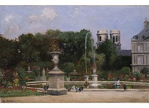 Detail images:  A. Benoit, Französische Schule des 19./20. Jahrhunderts
