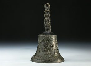 Detail images:  Tischglocke in Bronze