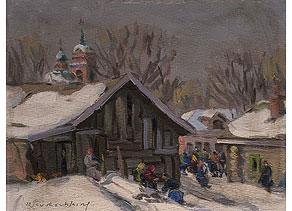 Detail images:  Vasily Pustoshkin, 1893 - 1973
