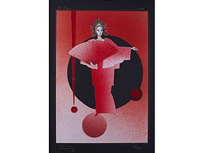 Detail images:  Rafail Adolfovitch Volsky, geb. 1938 Bühnenbildner im Bolschoj Theater in Moskau