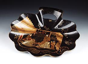 Detail images:  Japanische Anbietschale in Muschelform