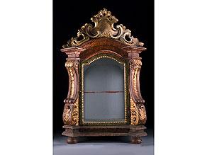 Detail images:  Kleiner barocker Reliquienschrein des 18. Jahrhunderts
