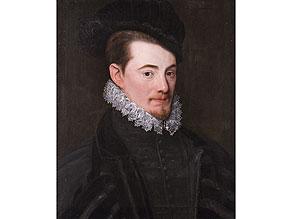 Detail images:  Benjamin Foullon, 1550 - 1612. Französische Schule. Der Maler wirkte als Hofmaler nach dem Tode seines Onkels François Clouet.