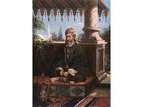 Jan Baptist Huysmans, 1826 Antwerpen - 1906. Der Künstler unternahm ausgedehnte Studienreisen nach Grichenland, Syrien, Palästina, Ägypten, Algerien und in die Türkei und wirkte längere Zeit in Paris, bevor er nach Antwerpen zurück zog.