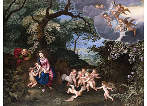 Detail images:  Pieter van Avont, 1600 Malines - 1652 Antwerpen