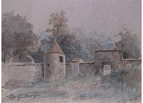 Detail images:  Carl Spitzweg, 1808 - 1885 München