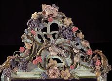 Detail images: Ansbacher Rokoko-Spiegel