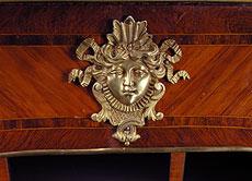 Detail images: Kleines französisches Damen-Bureau Plat des 18. Jahrhunderts
