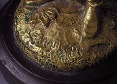 Detail images: Paar Tischkerzenleuchter von Evgeny Alexandrovitch Lansere