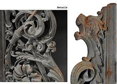 Detail images: Balkonträger