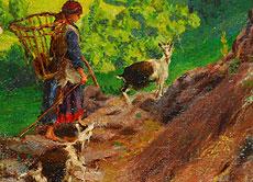 Detail images: Luigi Rossi, 1853 - 1923 Lugano