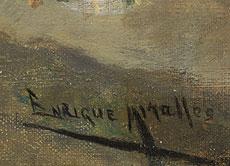 Detail images: Francisco Miralles, 1848 - 1901, Französischer Maler des 19. Jahrhunderts