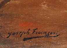 Detail images: Joseph François, 1851 Brüssel - 1940