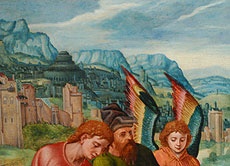 Detailabbildung: Roger van der Weyden, Werkstatt des, 1399/1400 Tournai - 1464 Brüssel