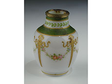 Detail images: Kleine Milchglas-Miniturvase