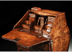 Detail images: Barock-Kommode mit Pultaufsatz