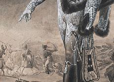 Detailabbildung: Aquarellist des 19. Jahrhunderts
