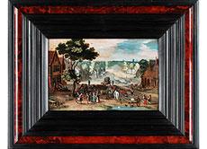 Detail images: Adriaen van Stalbemt, 1580 - 1662 Antwerpen