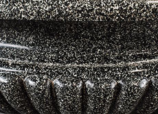 Detail images: Seltene und sehr große Schale aus ägyptischem Porphyr
