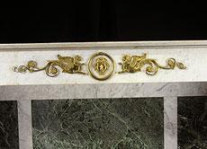 Detail images: Große Marmorkonsole mit figürlicher Bronzedekoration. Nikolaus Friedrich von Thouret, 1767 Ludwigsburg - 1845 Stuttgart, zug.