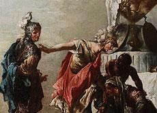 Detail images: Francesco Zugno, 1709 Venedig - 1787, Schüler des Giovanni Battista Tiepolo.