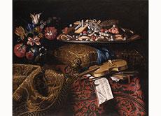Detailabbildung: Benedetto Fioravanti, tätig in Rom im 17. Jahrhundert