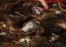 Detail images: Jan Brueghel der Jüngere, 0601 - 1678, und Hendrik van BAlen, 1623 - 1661, zug.