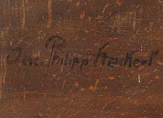 Detail images: Jakob Philipp Hackert, 1737 Prenzlau - 1807 Florenz