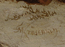 Detail images: Frederik Marinus Kruseman, 1816 Haarlem – 1882 Brüssel